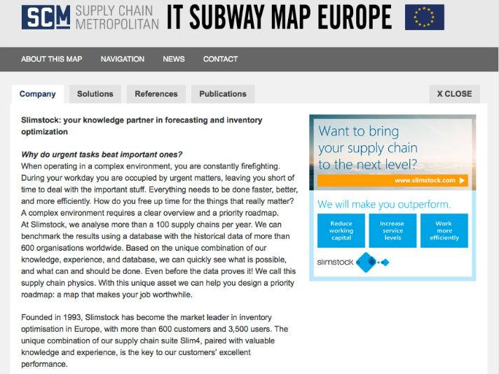 Supply Chain Movement Spreading European Supply Chain Knowledge